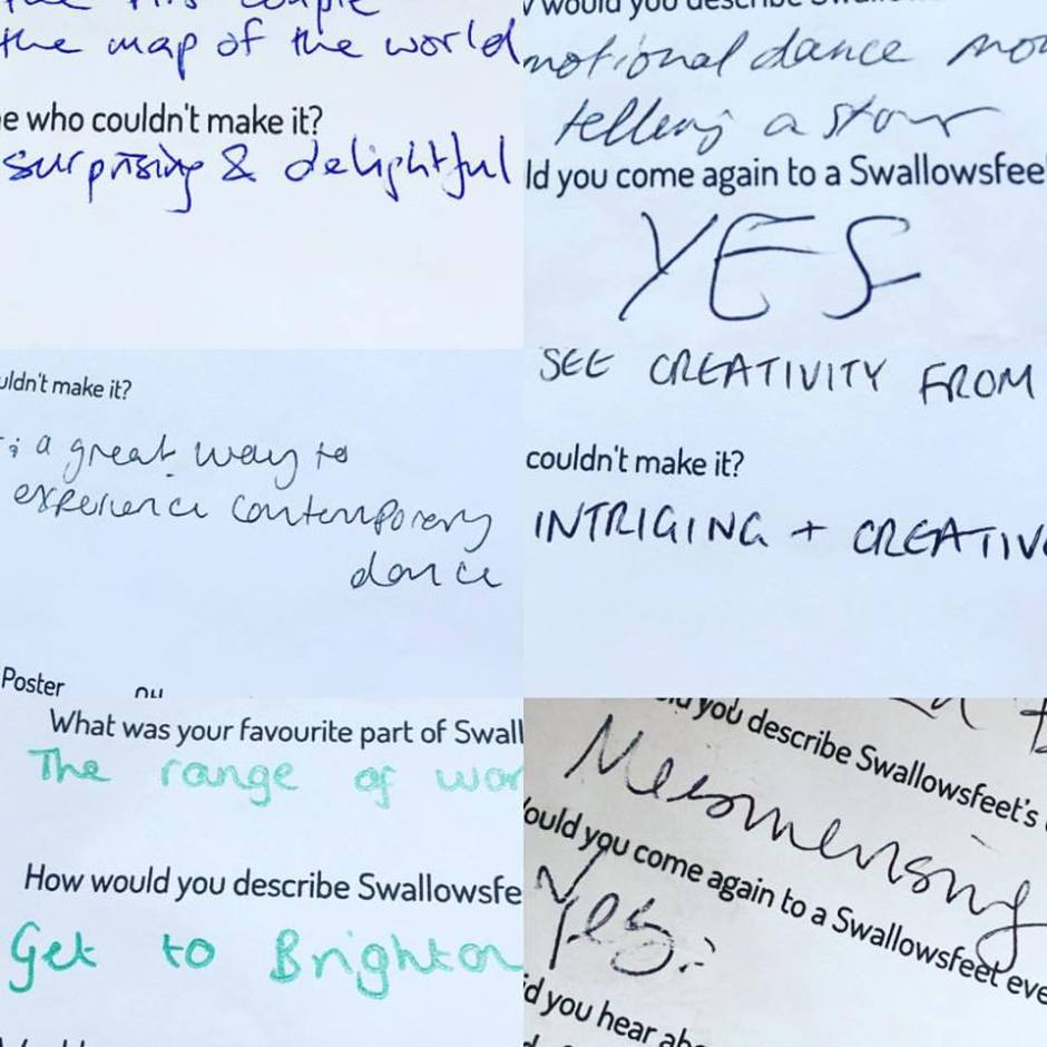 Brighton Fringe feedback