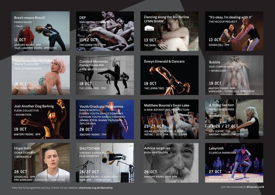 dancelive programme